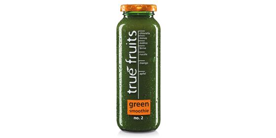 Nach der Einführung des Green Smoothie no. 1 bringen wir den Green Smoothie no. 2 mit Rucola, Minze und Chlorella heraus.