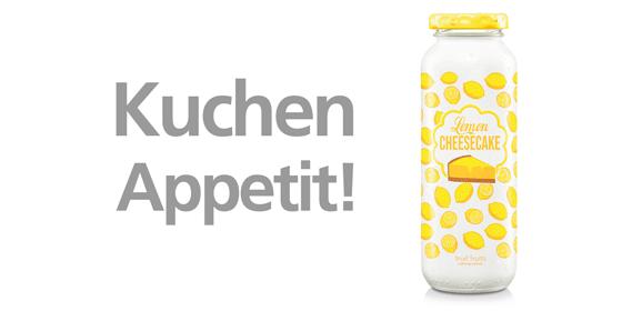Wir bringen den ersten krümmelfreien Kuchen der Welt zum Trinken auf den Markt: Unsere Frühlings-Edition Lemon Cheesecake. #cakenews