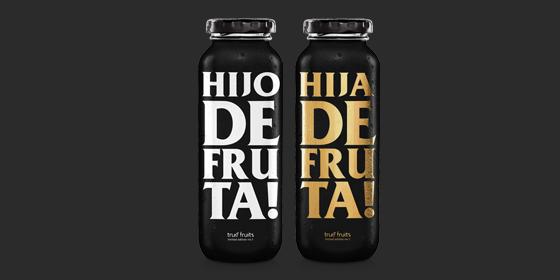 """Manchmal rutscht es uns einfach so raus: Was ein """"Hijo de Fruta""""! Wir alle haben diesen einen Freund, der immer zu spät kommt, einen Freund, der immer die Anderen zahlen lässt oder diesen Nachbarn, der Sonntags morgens um punkt 6:00 Uhr den Rasen mäht… Wenn wir ehrlich sind – es gibt viele """"Hijo de Frutas"""". Und gerade weil das Jahr 2020 ebenfalls ein waschechter """"Hijo de Fruta"""" ist, gibt es ab jetzt die erste spanische Limited Edition """"Hijo/a de Fruta"""" mit unserem smoothie yellow. Leider kriegst Du sie nur im spansischen Supermarkt Deines Vertrauens. PS: """"Hijo/a de Fruta"""" heißt übersetzt """"Sohn/Tochter einer Frucht""""."""