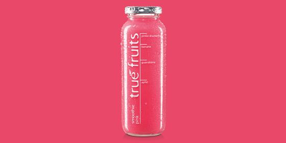 Der neue Smoothie pink mit Drachenfrucht und Guanábana erobert die Kühlregale.#Einhornkotze Mehr Infos